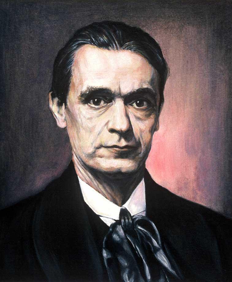 Citaten Rudolf Steiner : Rudolf steiner driegonaal